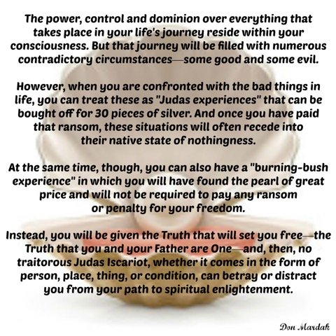 The power, control and dominion over everything that takes place
