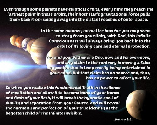Even though some planets have elliptical orbits, every time they reach the farthest point