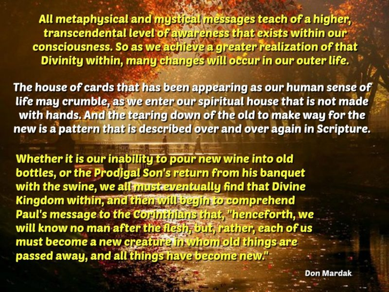 All metaphysical and mystical messages t